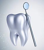 bild på tand